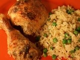 Garam Masala Chicken: Bloggers Around the World go to India  #Healthy Eating #Weekly Menu Plan