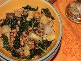 Kale Eggplant Stew #Foodie Friday