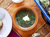 Mujaddara (Lebanese Lentil, Rice and Spinach Soup) #Bob's Red Mill Everyday Gluten-Free Cookbook