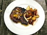 Pineapple Honey Pork Chops  #Henry's Humdingers #Weekly Menu Plan