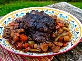 Pot Roast in Red Wine: aka Boeuf a la Mode  #French Fridays with Dorie