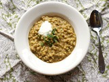 Red Lentil Barley Soup #Weekly Menu Plan