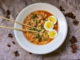 Simple Mee Rebus: Malaysian Noodle Soup