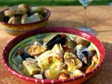 Slow Cooker Bouillabaisse: Fisherman's Stew #Food of the World