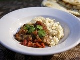 Slow Cooker Indian Eggplant: Bhurtha #Food of the World