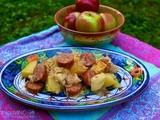 Slow Cooker Kielbasa Sauerkraut & Apples #Food of the World Linky Party