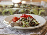 Stuffed Cabbage with a Morel Cream Sauce #French Fridays with Dorie