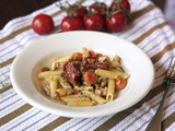 Tuna Escabeche Pasta #French Fridays with Dorie