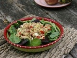 Wheat Berry & Tuna Salad (my version: Tuna Quinoa Salad) #French Friday's with Dorie