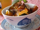 Flavorful Braised Pork Belly with Pumpkin
