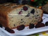 Mulberry Yogurt Cake and Health Benefits of Mulberry