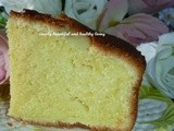 Simple 5,6,7,8 Butter Cake