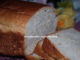 Soft and Fluffy Healthy Wheat Bran Oat Bread