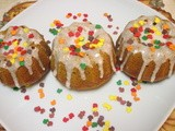 Mini Bundt Pan Pumpkin Bread
