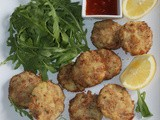 Feel Good Fish Cakes Appetizer