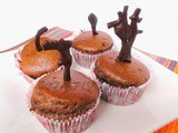 Eggless Chocolate Muffins