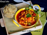 Moroccan Chickpea Curry with Quinoa