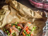 Curried Chicken en Papillote
