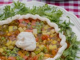 Pie Plate Salad! a Retro Food Celebration