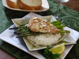 Grilled Wild Salmon w/ Roasted Asparagus
