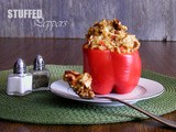Stuffed Red Peppers (Vegan)