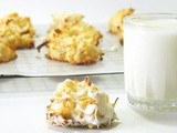 White Chocolate Almond Macaroons