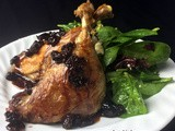 Trigger Warning:                                                                                   This Fatty, Slutty Duck Confit with Brown Sugar Balsamic Cherries May  Require You to Seek a Safe Space