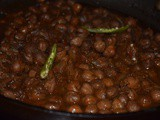 Amristari Chole (Chick pea) Curry