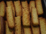 Cake Rusk ( An Indian Biscotti)
