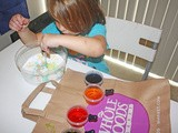 Baking Soda and Tinted Vinegar – Preschooler Activity