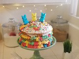 Colorful Easter Layer Cake