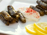 Stuffed Vine Leaves with Rice and Herbs (Dolma Yalanci)