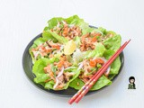 Asian Lettuce Wraps With Peanut Butter Sauce