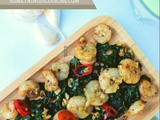 Decoding Vitamin e + Garlicky Shrimp Spinach Salad Recipe #evion