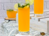 Orange Mojito Mocktail