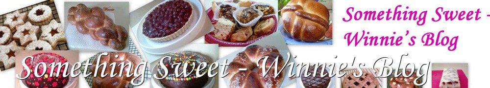 Very Good Recipes - Something Sweet - Winnie's Blog