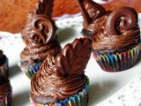 Chocolate Cupcakes with Chocolate Butter-cream Frostng