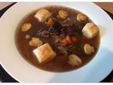 Beef, Beer and Black Pudding Soup