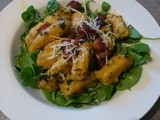 Butternut Gnocchi with Sage Butter and Bacon