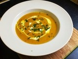 Parsnip and Sweet Potato Soup
