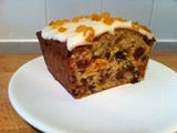 Weekly Bake Off - Apricot loaf cake