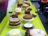 Weekly Bake Off - Jammy Swiss Cakes and Clandestine Cake Club