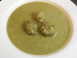 Wild Garlic Soup with Wild Garlic Dumplings
