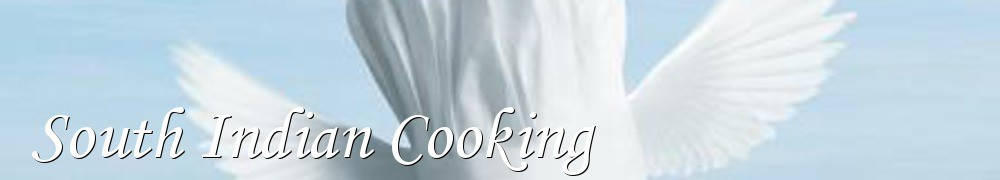Very Good Recipes - South Indian Cooking