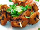 Chicken Tikka-Murgh Tikka-Yogurt chicken recipe-How to make dry chicken tikka recipe