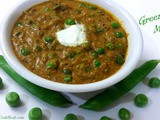 Green peas masala north indian recipe