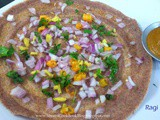 Ragi Dosa Recipe-Ragi Adai-How to make Ragi Dosa with Onion