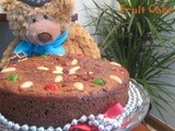 Eggless fruit cake/christmas cake