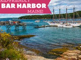 12 Things to do in Bar Harbor, me with Kids
