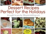 15 Dessert Recipes Perfect for the Holidays